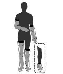Kipsinsuoja Limbo 1/2-pit käsivarteen M60 1 kpl