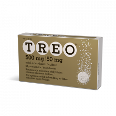 TREO 500/50 mg poretabl 60 kpl