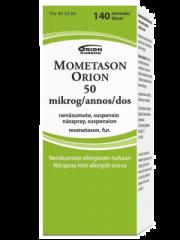 MOMETASON ORION 50 mikrog/annos nenäsumute, susp 140 annosta