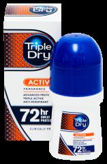 TRIPLE DRY MENS ACTIVE FRAGRAN ROLL-ON 50 ML