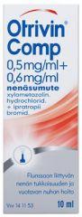 OTRIVIN COMP 0,5/0,6 mg/ml nenäsumute, liuos 10 ml