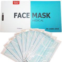 FACE MASK TYPE II yksittäin pakattu 50 kpl